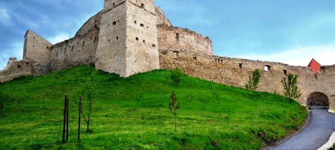 Cetatea Rupea – înainte de furtună