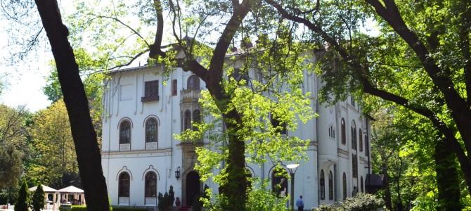 O după-amiază la Palatul Ştirbey