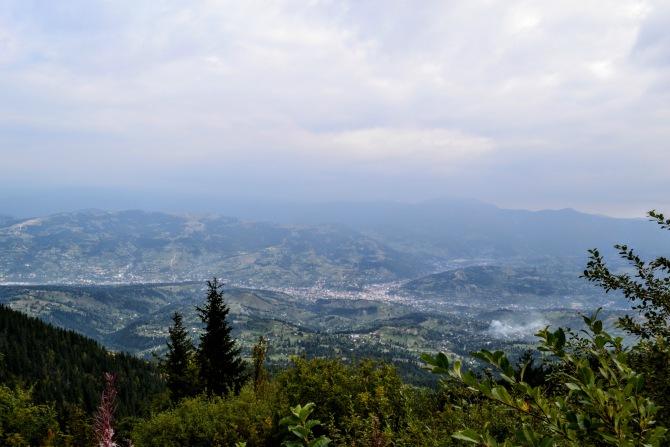 Borșa - Cum se vede România de pe acoperișul Carpaților Orientali?