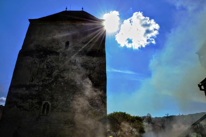 Cetatea Câlnic 13 - Cetatea Câlnic - o surpriză plăcută