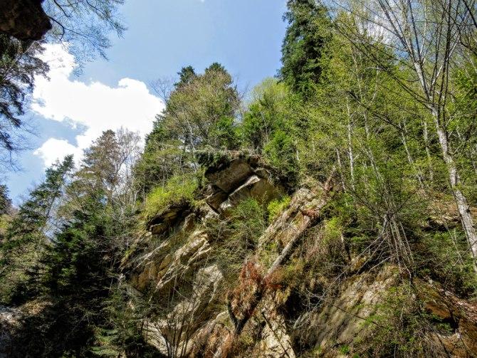 Cascada Caşoca 4 - Cascada Caşoca – sunetul apei din Masivul Podul Calului