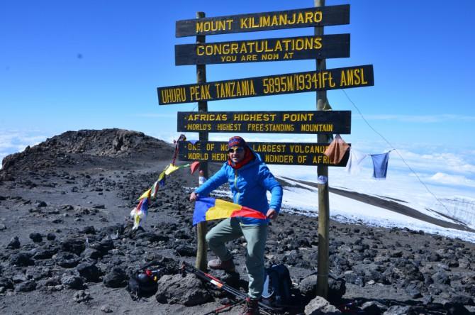 """Kilimanjaro 10 - Interviu cu Andrei Rădulescu - """"Un strop de fericire"""" pe Kilimanjaro"""