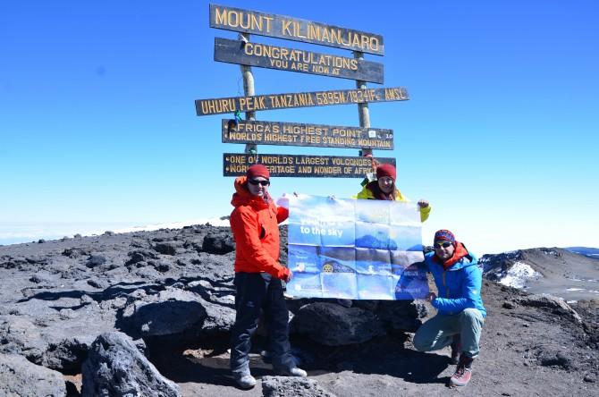 """Kilimanjaro 11 - Interviu cu Andrei Rădulescu - """"Un strop de fericire"""" pe Kilimanjaro"""