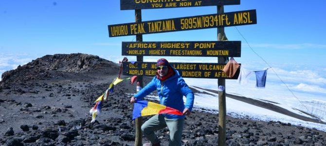 """Interviu cu Andrei Rădulescu – """"Un strop de fericire"""" pe Kilimanjaro"""