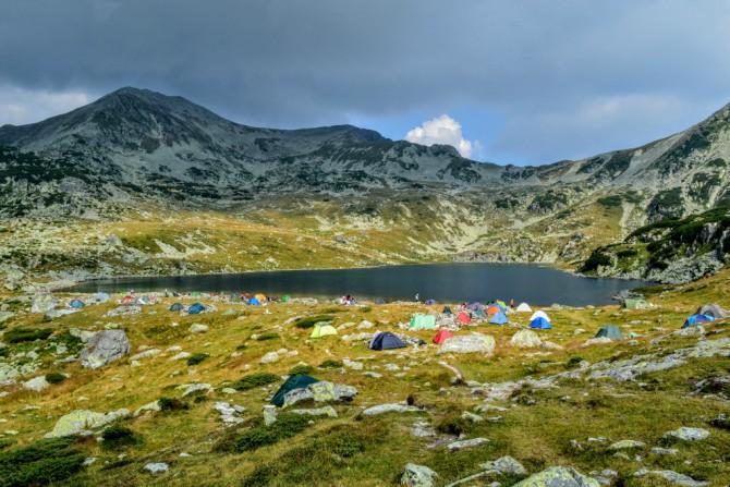 Lacul Bucura 1 - Lacul Bucura - cel mai întins lac glaciar din România