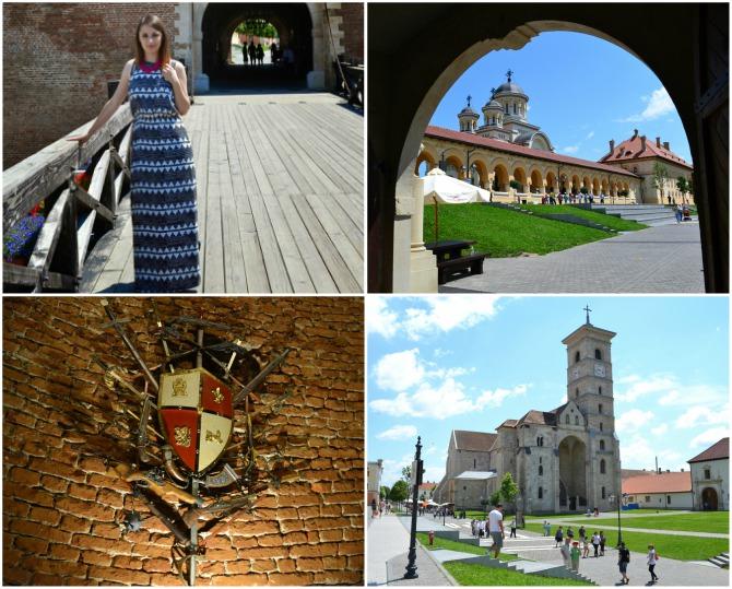 Alba Iulia colaj - Castele şi cetăţi din Transilvania