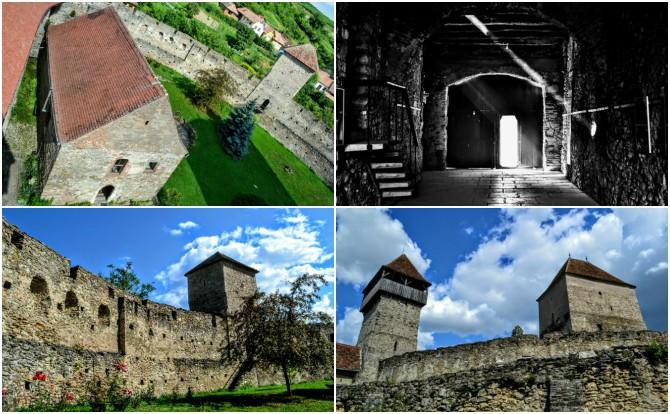 Câlnic colaj - Castele şi cetăţi din Transilvania