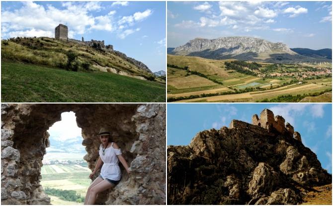 Colţeşti colaj - Castele şi cetăţi din Transilvania