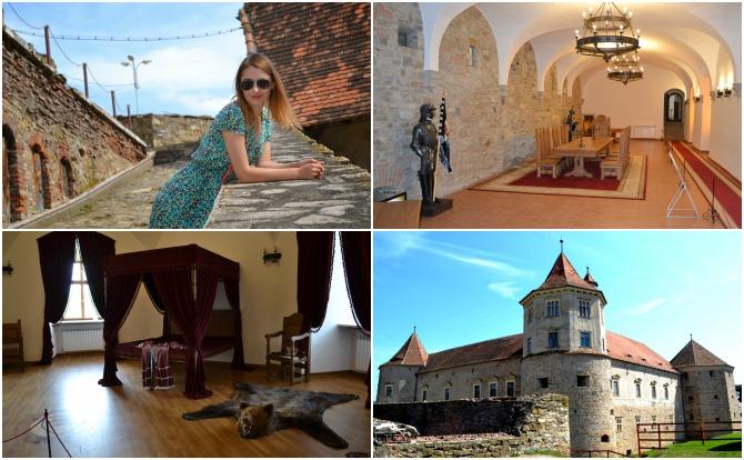 Făgăraș colaj - Castele şi cetăţi din Transilvania