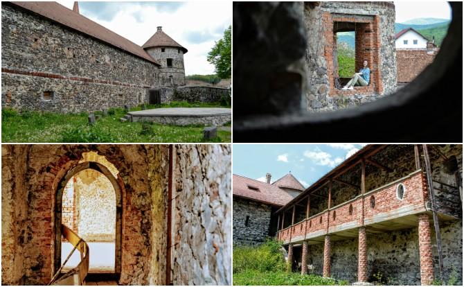 Racoş colaj - Castele şi cetăţi din Transilvania
