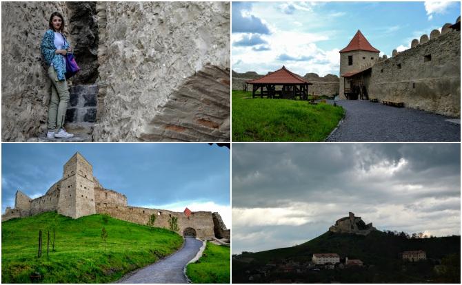 Rupea colaj - Castele şi cetăţi din Transilvania