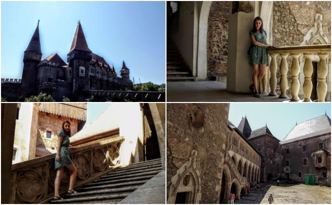 castelul corvinilor colaj - Castele şi cetăţi din Transilvania