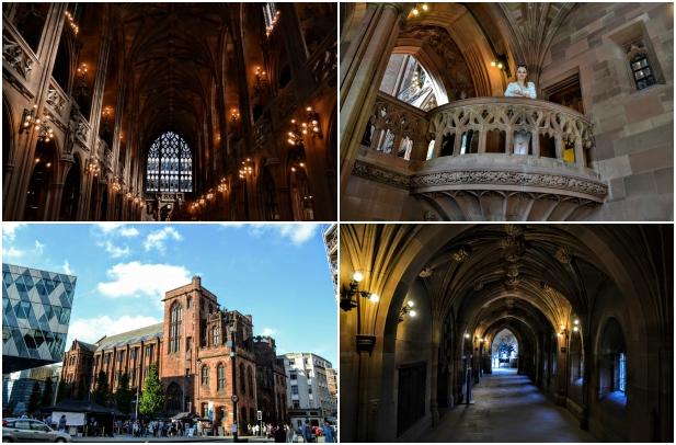 Biblioteca Manchester - City break în nord-vestul Angliei