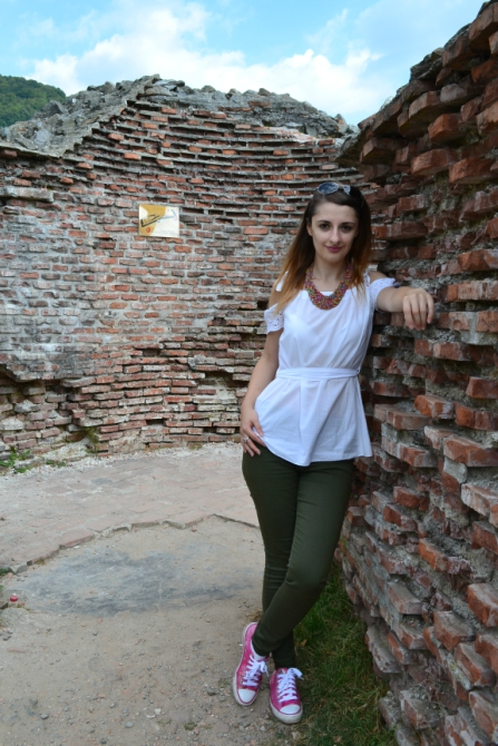Cetatea Poenari 11 - 1480 de trepte până la Cetatea Poenari