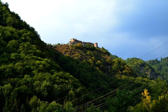 Cetatea Poenari 12 - 1480 de trepte până la Cetatea Poenari