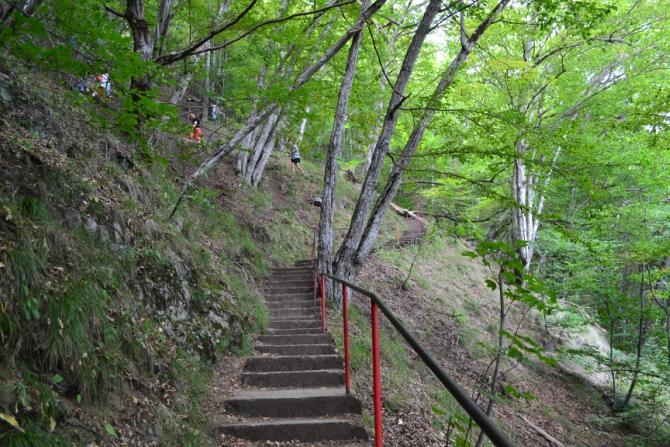 Cetatea Poenari 3 - 1480 de trepte până la Cetatea Poenari
