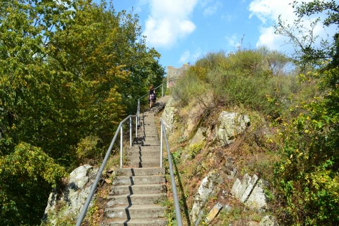 Cetatea Poenari 4 - 1480 de trepte până la Cetatea Poenari