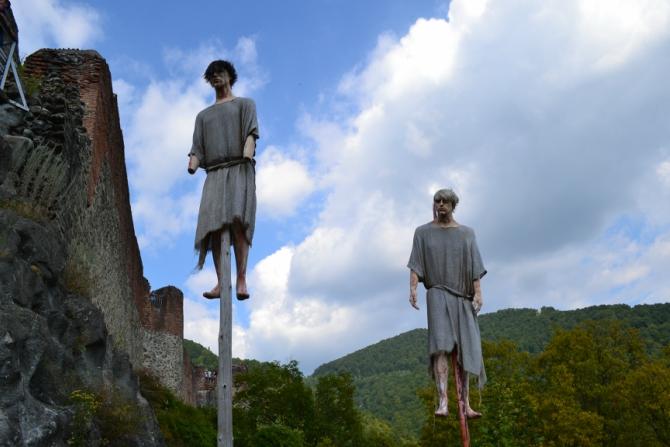 Cetatea Poenari 5 - 1480 de trepte până la Cetatea Poenari