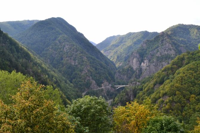 Cetatea Poenari 6 - 1480 de trepte până la Cetatea Poenari