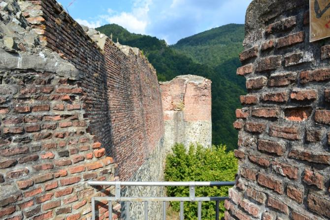 Cetatea Poenari 8 - 1480 de trepte până la Cetatea Poenari