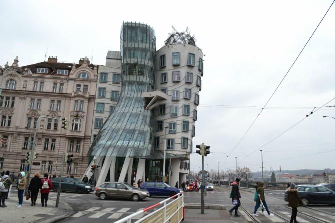 Casa care dansează - Praga - top 12 obiective turistice