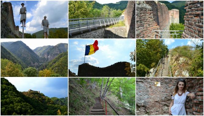 Cetatea Poenari colaj - Călătoriile anului 2016