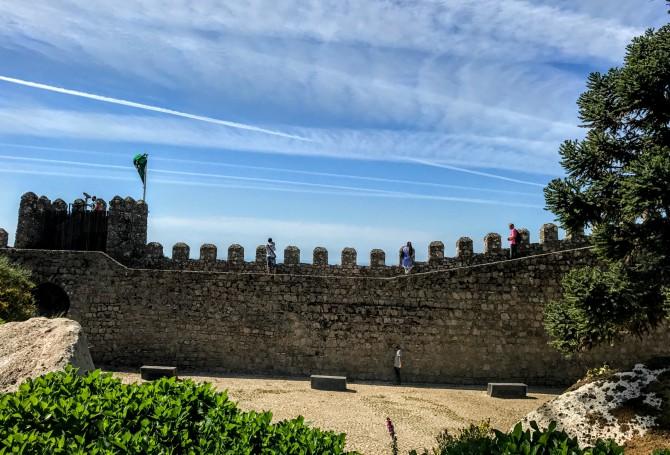 Castelul Maurilor 1 - Sintra - orașul magic al Portugaliei