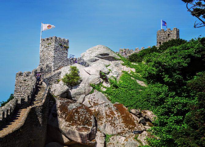 Castelul Maurilor 3 - Sintra - orașul magic al Portugaliei