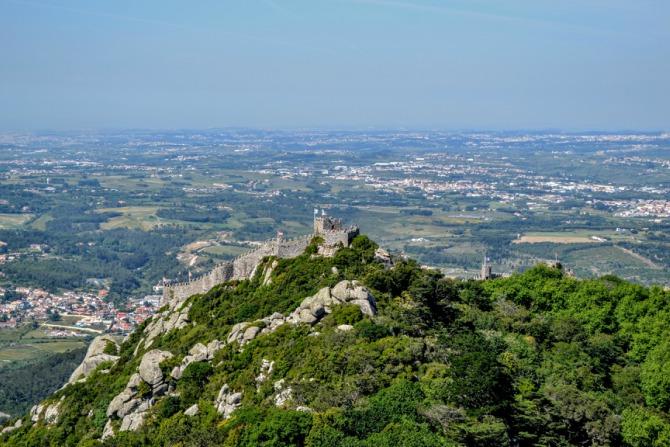 Castelul Maurilor 4 - Sintra - orașul magic al Portugaliei