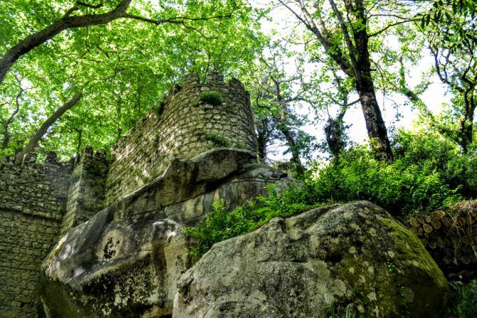 Castelul Maurilor 5 - Sintra - orașul magic al Portugaliei