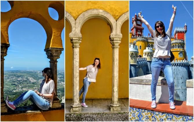 Palatul Pena 1 - Sintra - orașul magic al Portugaliei