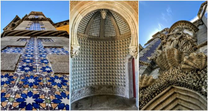 Palatul Pena 3 - Sintra - orașul magic al Portugaliei