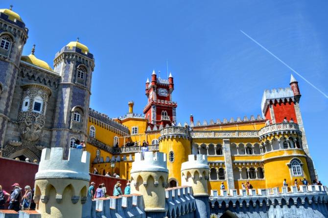 Palatul Pena 4 - Sintra - orașul magic al Portugaliei