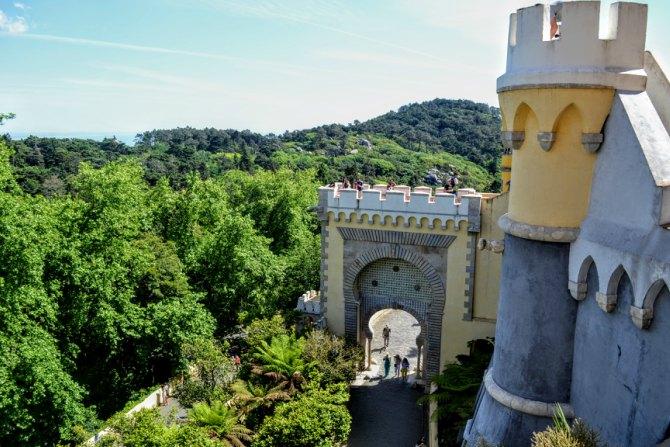 Palatul Pena 7 - Sintra - orașul magic al Portugaliei