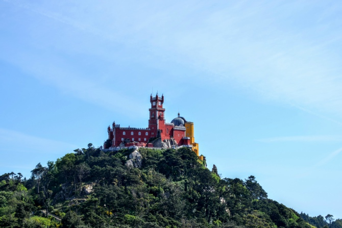 Palatul Pena 8 - Sintra - orașul magic al Portugaliei