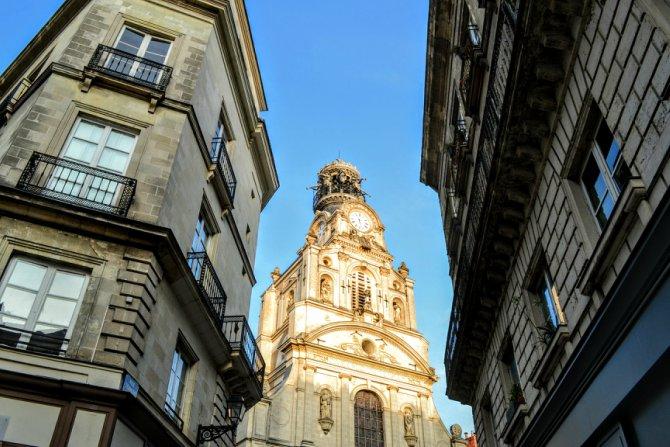 glise Sainte Croix - Un weekend în Nantes şi împrejurimi