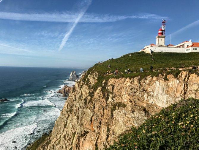 Cabo da Roca 4 - Cabo da Roca - de aici doar oceanul...