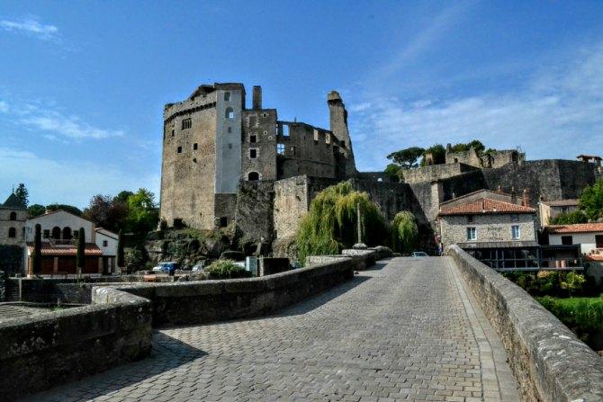 Castelul din Clisson - Un weekend în Nantes şi împrejurimi