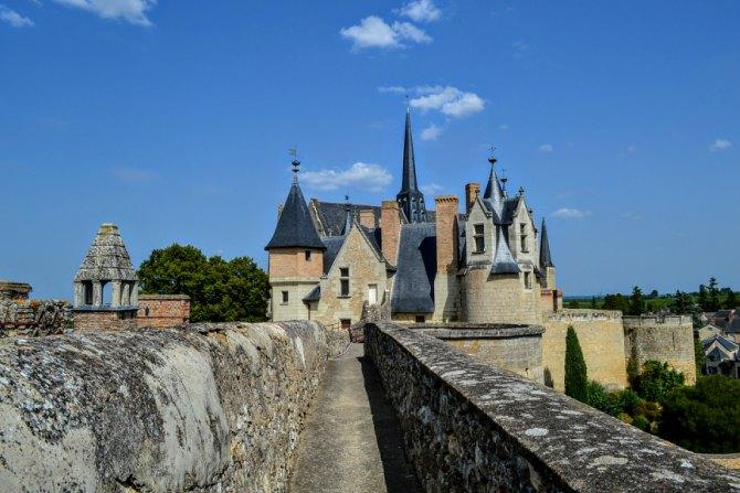 Castelul din Montreuil Bellay - Un weekend în Nantes şi împrejurimi