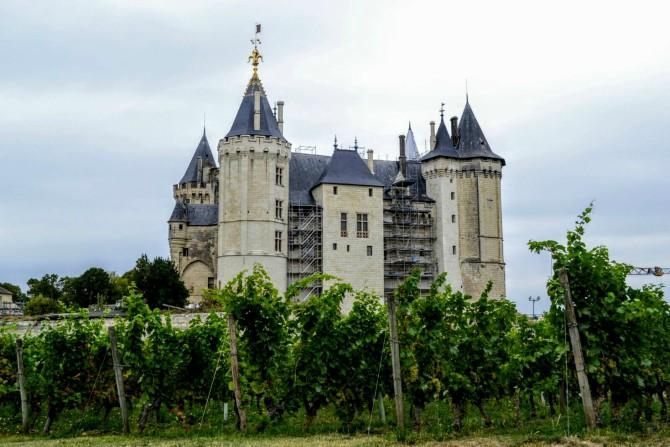 Castelul din Saumur - Un weekend în Nantes şi împrejurimi