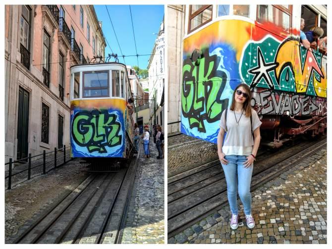 Lisabona funicular - Lisabona - un city break pe ritmuri de fado