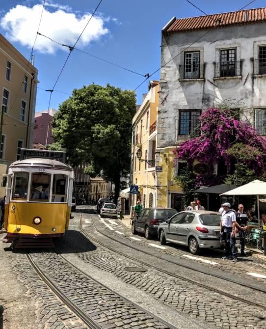 Lisabona tramvaiul 28 - Lisabona - un city break pe ritmuri de fado
