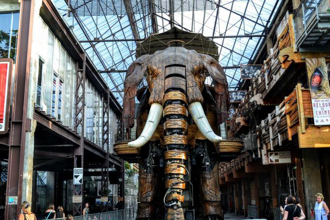 Marele Elefant Nantes - Un weekend în Nantes şi împrejurimi