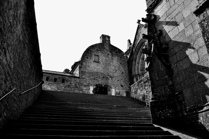 Mont Saint Michel 12 - Mont Saint-Michel - când poveştile devin realitate