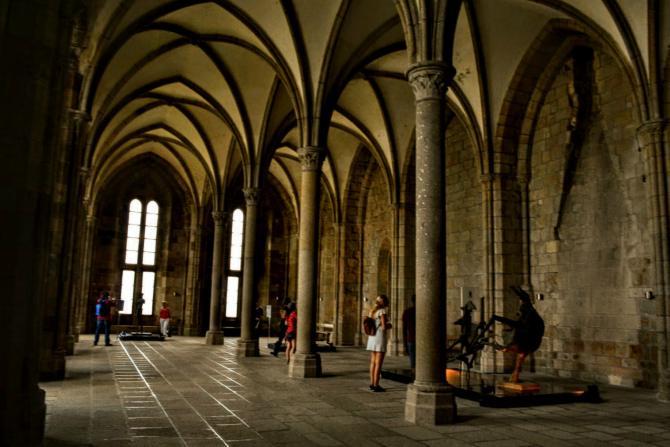 Mont Saint Michel 18 - Mont Saint-Michel - când poveştile devin realitate