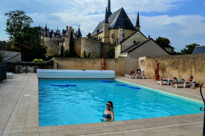 Montreuil Bellay piscina - Un weekend în Nantes şi împrejurimi