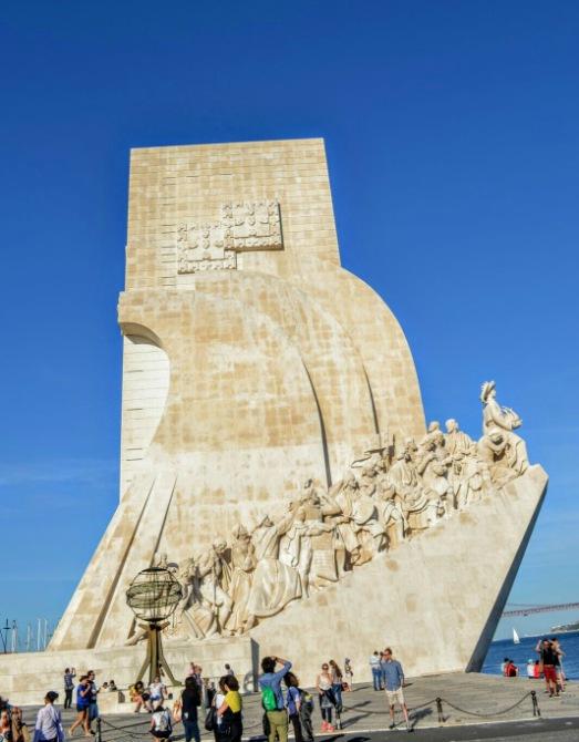 Monumentul Descoperirilor - Lisabona - un city break pe ritmuri de fado