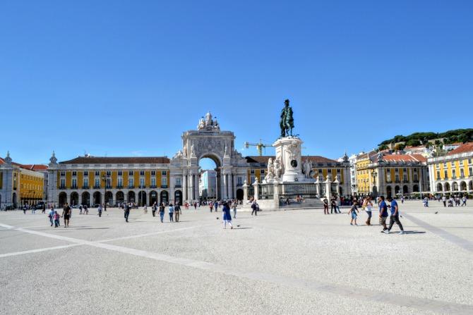 Praça do Comércio - Lisabona - un city break pe ritmuri de fado