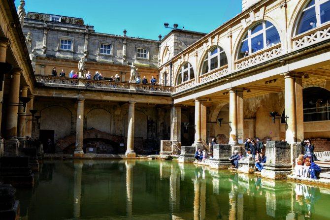 Băile romane Bath 1 - Bath - pe urmele romanilor în Marea Britanie
