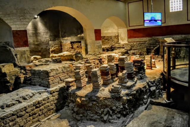 Băile romane Bath 2 - Bath - pe urmele romanilor în Marea Britanie